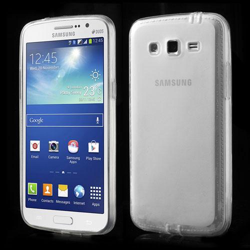 TPU pouzdro TVC pro Samsung Galaxy Grand 2 Duos Barva: Bílá (poloprůhledná)