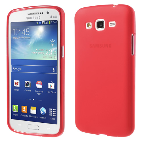 Odolné pouzdro pro Samsung Galaxy Grand 2 Duos Barva: Červená