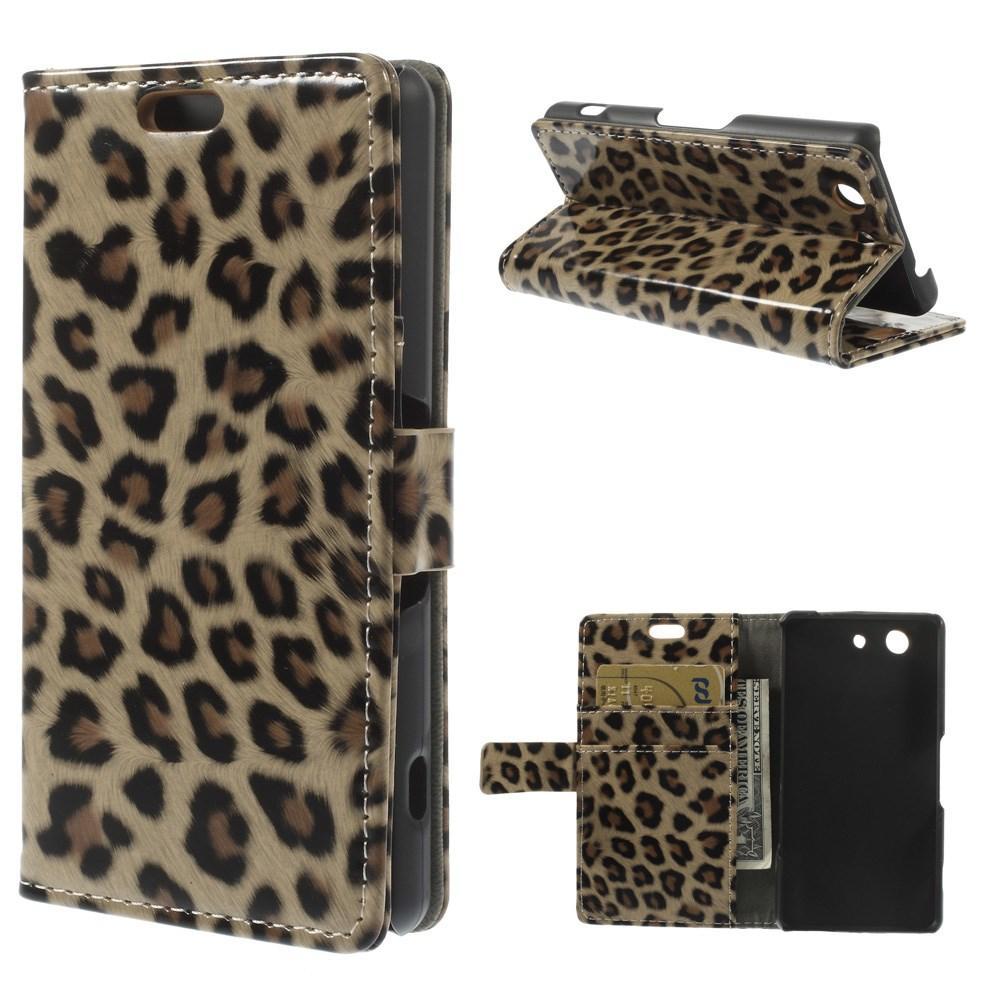 Pouzdro s leopardím vzorem pro Sony Xperia Z3 Mini