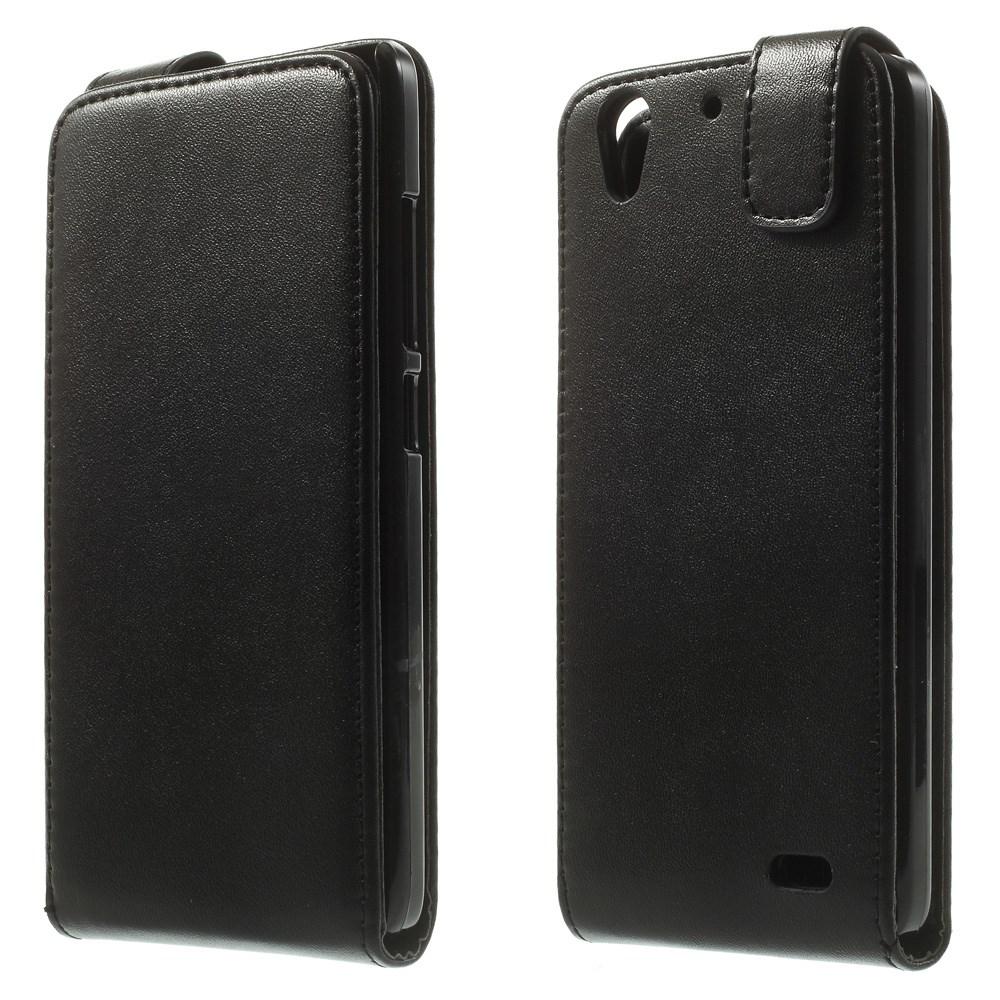 Koženkové pouzdro pro Huawei Ascend G630 Barva: Černá