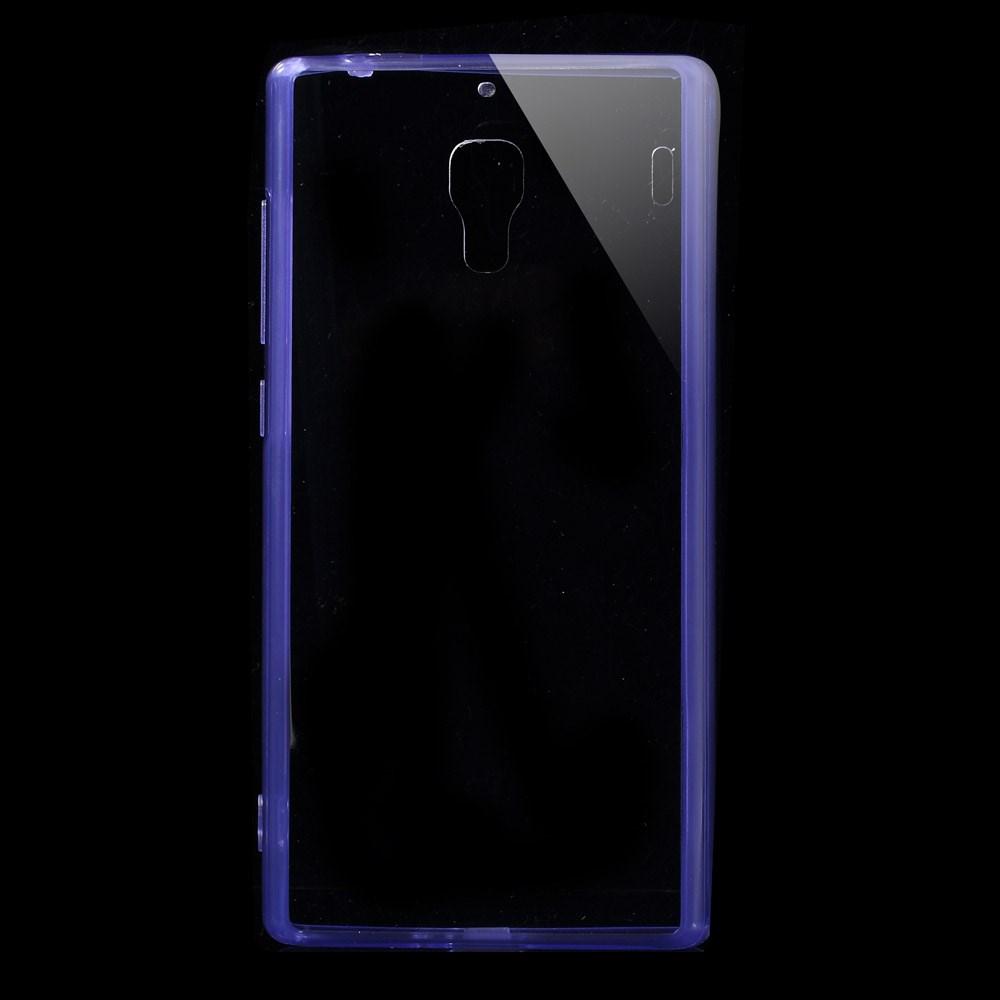 Pouzdro s barevným rámečkem pro Xiaomi Red Rice Barva: Fialová