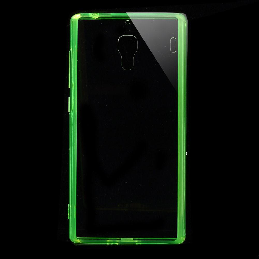 Pouzdro s barevným rámečkem pro Xiaomi Red Rice Barva: Zelená