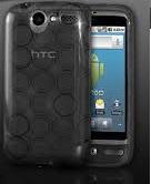 Odolné pouzdro s kruhy pro HTC Desire Barva: Šedá