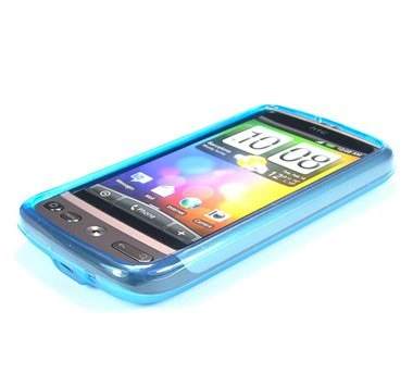 Odolné pouzdro s kruhy pro HTC Desire Barva: Modrá