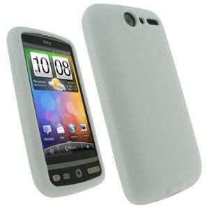 Silikonové pouzdro pro HTC Desire Barva: Bílá