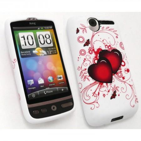 Odolné pouzdro se srdíčkem pro HTC Desire