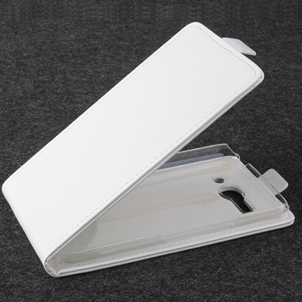 Koženkové pouzdro pro Alcatel OT- 7047D POP C9 Barva: Bílá