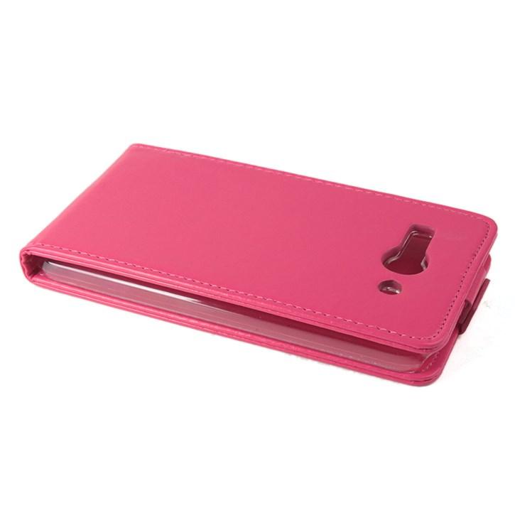 Koženkové pouzdro pro Alcatel OT- 7047D POP C9 Barva: Růžová