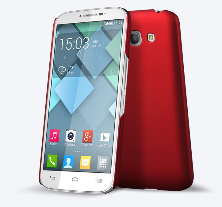 Plastové pouzdro pro Alcatel OT- 7047D POP C9 Barva: Červená