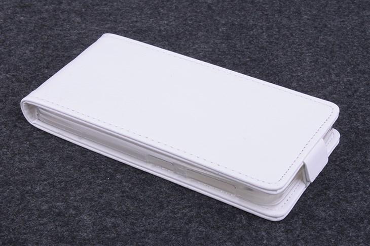Koženkové pouzdro pro Lenovo A606 Barva: Bílá
