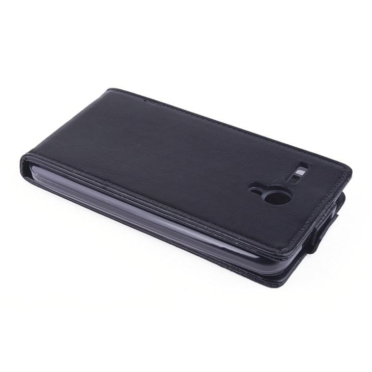 Koženkové pouzdro pro Lenovo A606 Barva: Černá