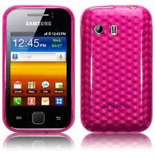 Odolné pouzdro se vzorem pro Samsung Galaxy Y Barva: Růžová