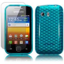 Odolné pouzdro se vzorem pro Samsung Galaxy Y Barva: Modrá (světlá)