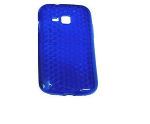 Odolné pouzdro se vzorem pro Samsung Galaxy Y Barva: Modrá (tmavá)