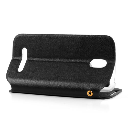 Kožené pouzdro Doormoon pro HTC Desire 500 Barva: Černá