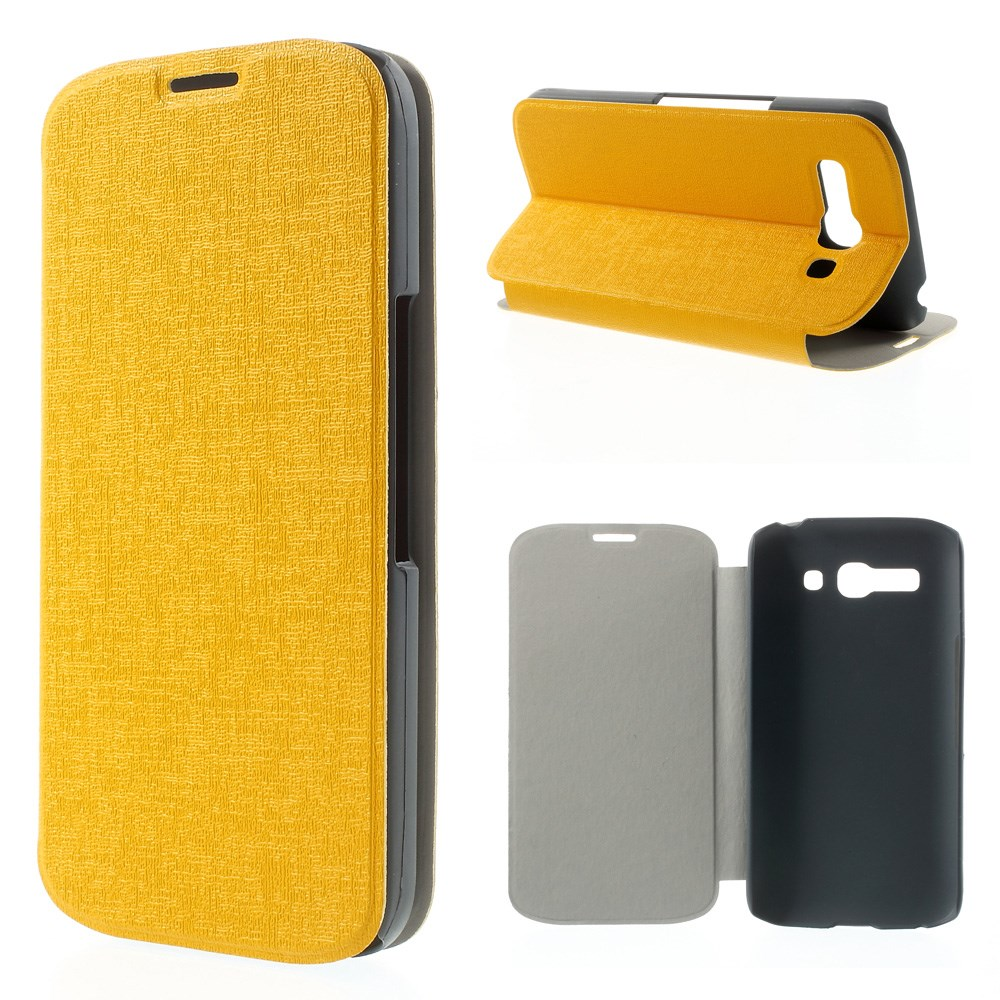 Pouzdro se stojánkem pro Alcatel OT- 7047D POP C9 Barva: Žlutá