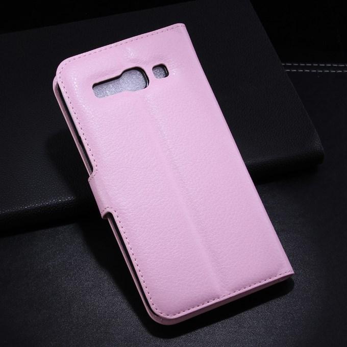 Pouzdro se stojánkem pro Alcatel OT- 7047D POP C9 Barva: Růžová (světlá)