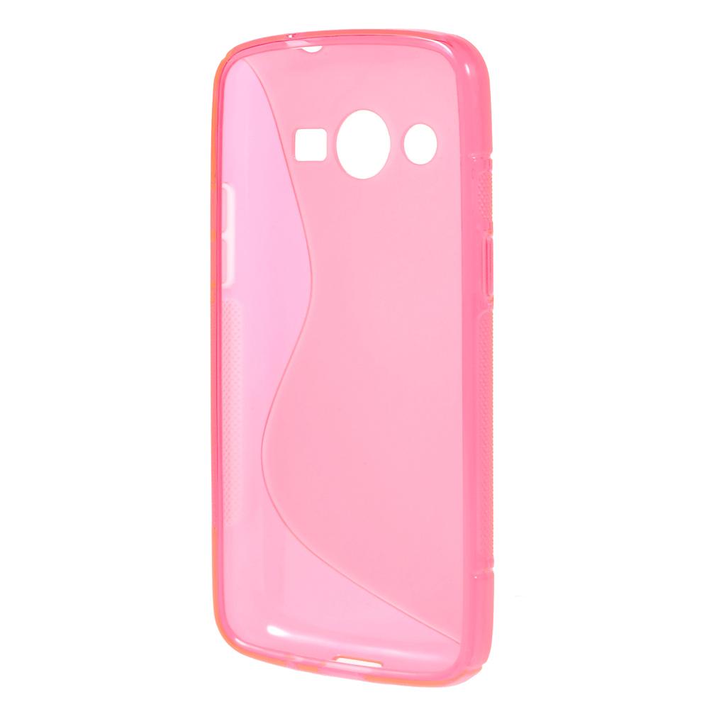 Odolné pouzdro pro Samsung Galaxy Core LTE Barva: Růžová