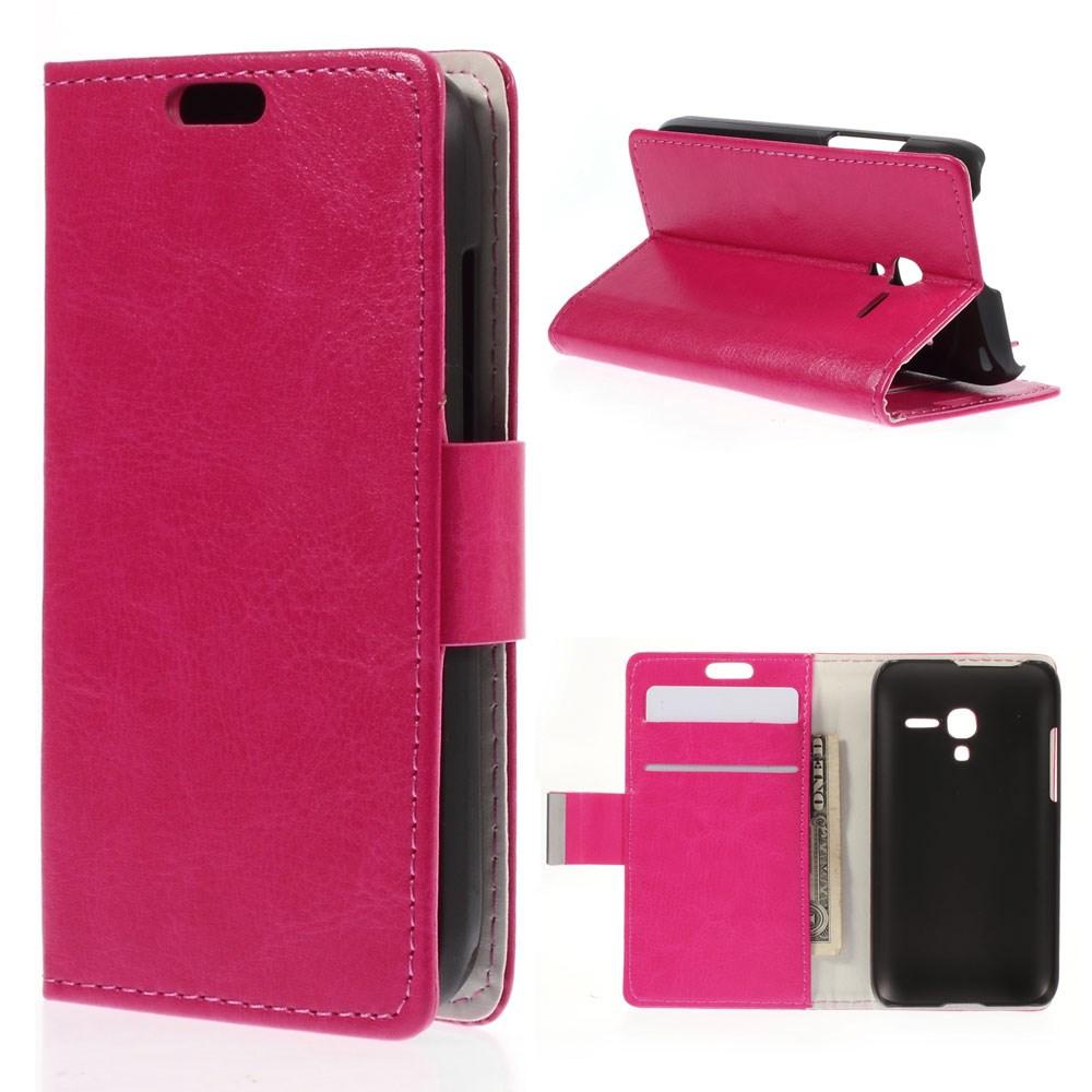 Pouzdro se stojánkem pro Alcatel Alcatel OT- 4035D POP D3 Barva: Růžová