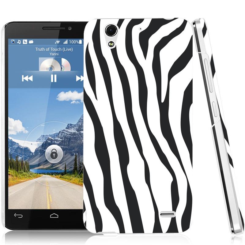 Pouzdro se zebřím vzorem pro Huawei Ascend G630