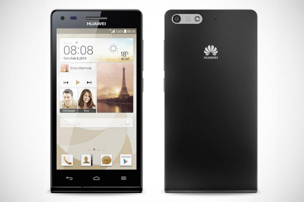 Čirá ochranná fólie TVC ScreenShield pro Huawei P7 Mini (Ascend P7 Mini)