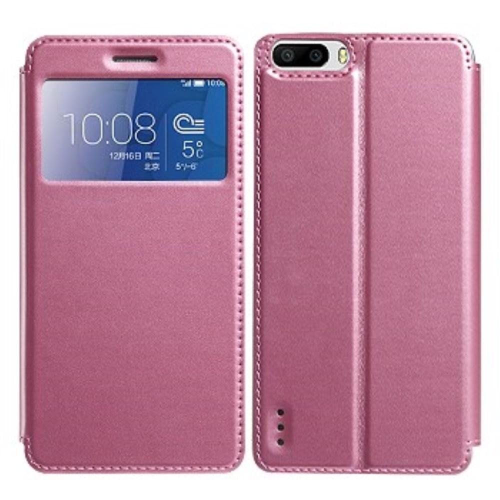 Značkové pouzdro pro Huawei Honor 6 Plus Barva: Růžová