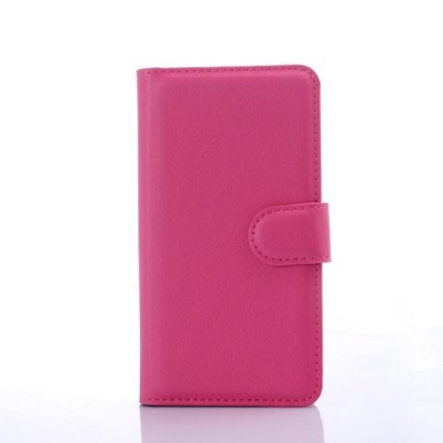 Pouzdro se stojánkem pro LG Leon 4G LTE (H340N) Barva: Růžová (tmavá)