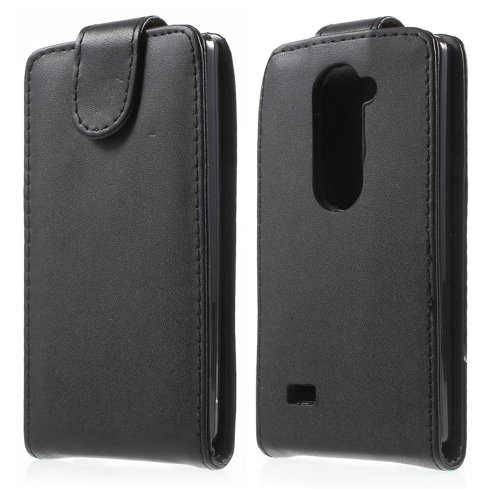 Pouzdro TVC FlipCase pro LG Leon 4G LTE (H340N) Barva: Černá