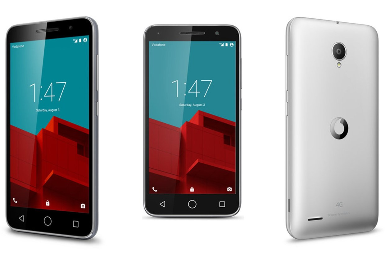 Čirá ochranná fólie pro Vodafone Smart Prime 6
