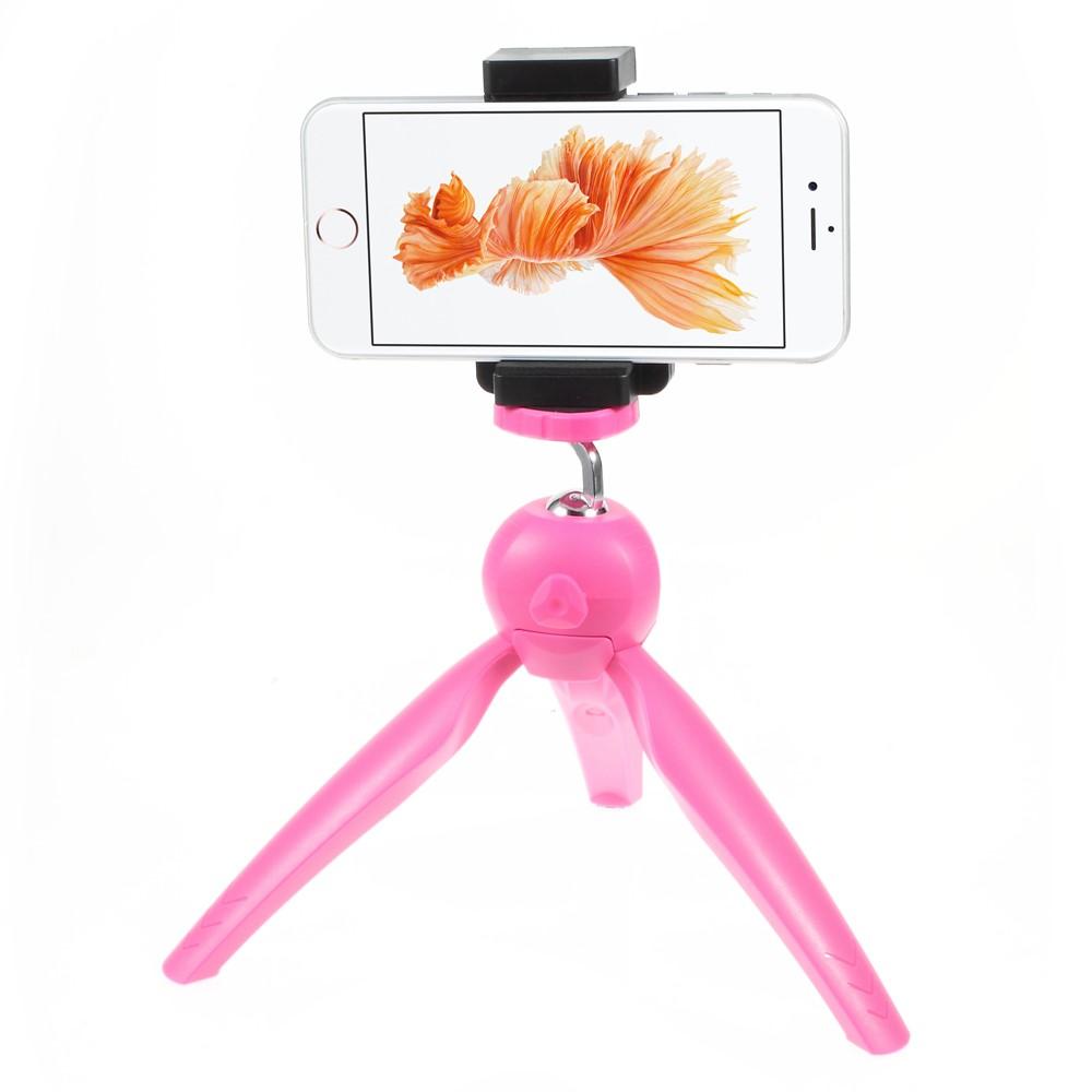 Plastový stativ TVC pro Apple iPhone 6S/Samsung Galaxy S6 EDGE Barva: Růžová