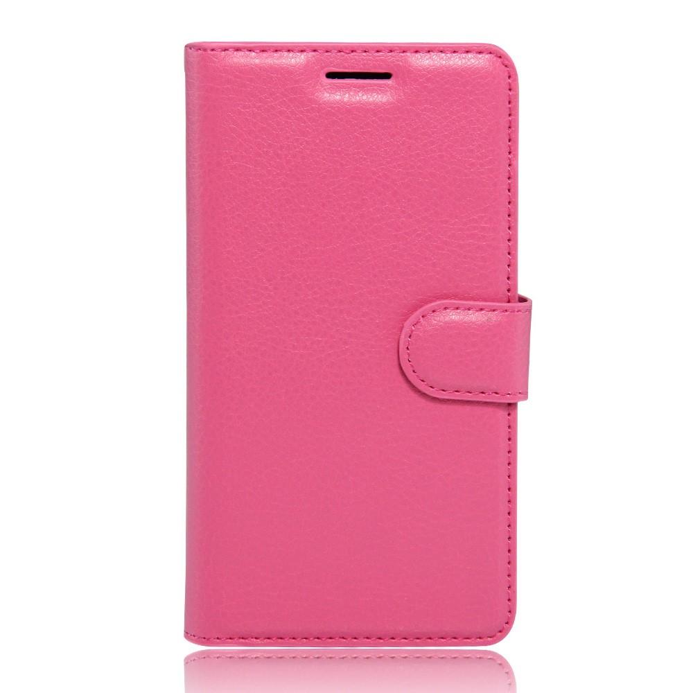 Koženkové pouzdro TVC WalletCase pro Meizu M3 Note/Meizu Note M3 Barva: Růžová