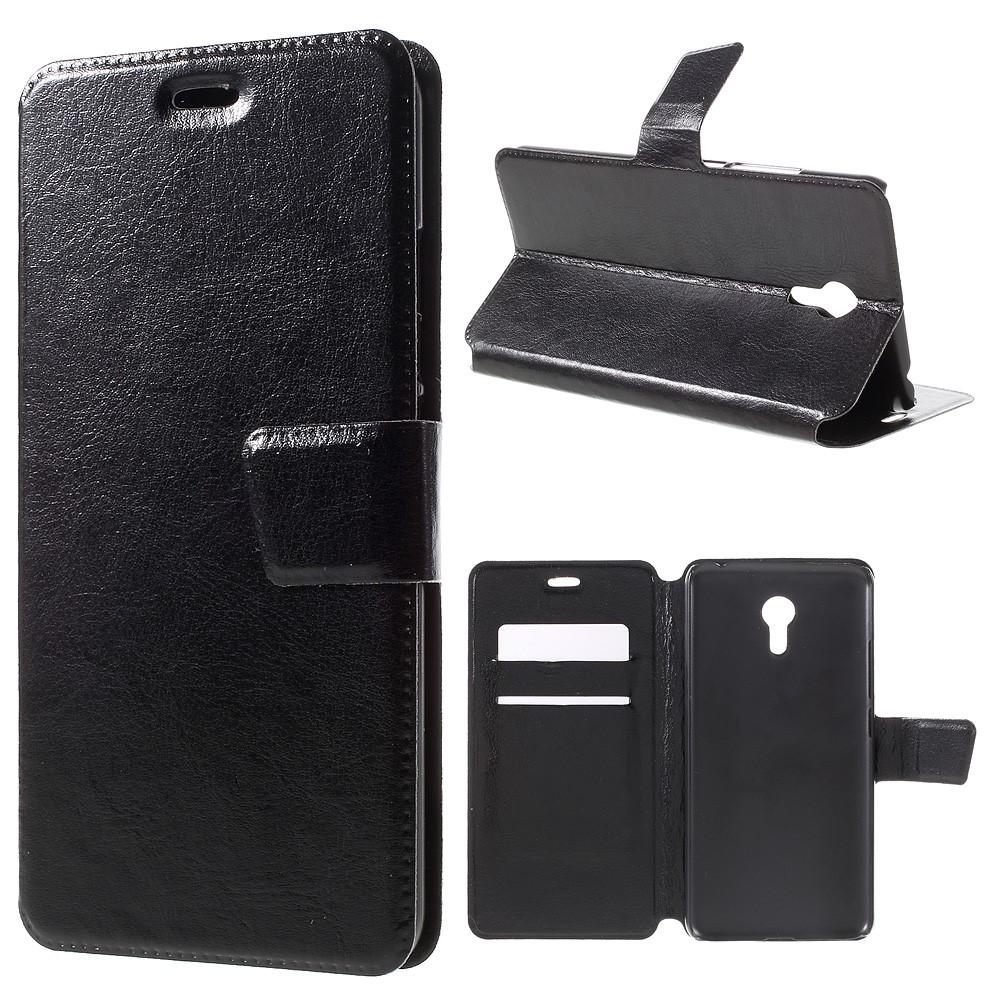 Pouzdro TVC WalletCase pro Meizu M3 Note/Meizu Note M3 Barva: Černá