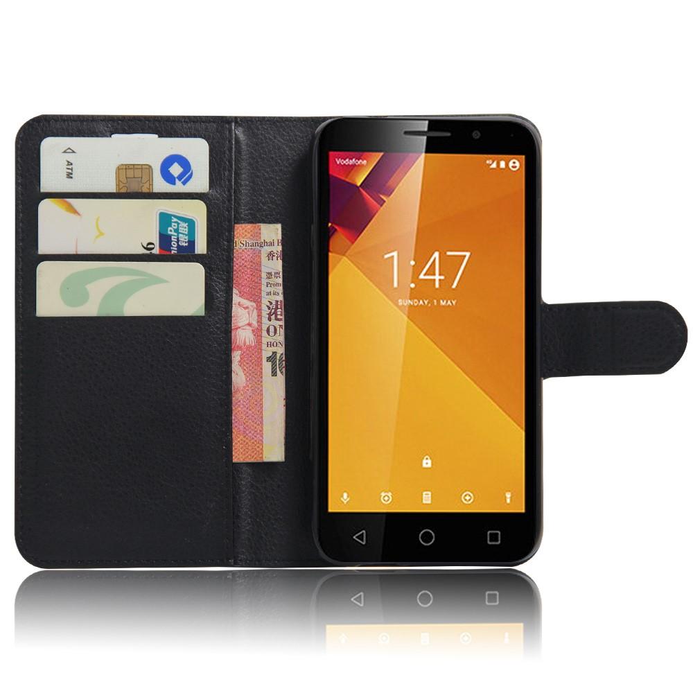 Pouzdro TVC WalletCase pro Vodafone Smart Turbo 7 Barva: Černá