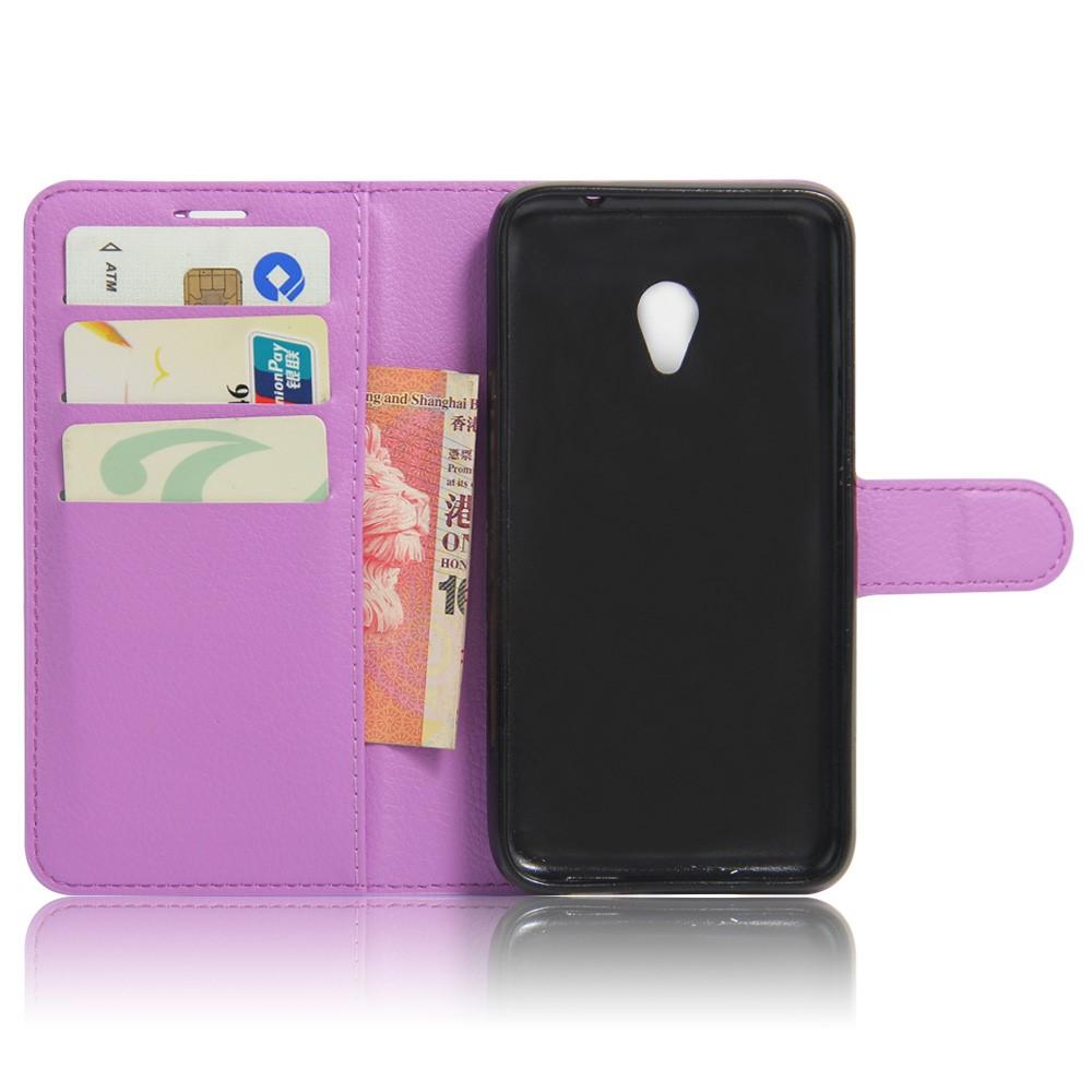 Pouzdro TVC WalletCase pro Vodafone Smart Turbo 7 Barva: Fialová