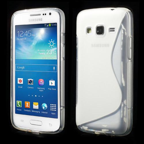 Odolné pouzdro pro Samsung Galaxy Express 2 Barva: Bílá (poloprůhledná)