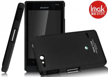 Pouzdro Imak pro Sony Xperia Go Barva: Černá