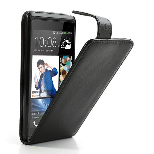 Koženkové pouzdro pro HTC Desire 600 Barva: Černá