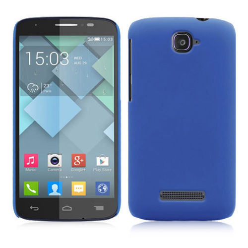 Plastové pouzdro TVC HardCase pro Alcatel OT-7041D POP C7 Barva: Modrá