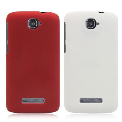 Plastové pouzdro TVC HardCase pro Alcatel OT-7041D POP C7 Barva: Bílá