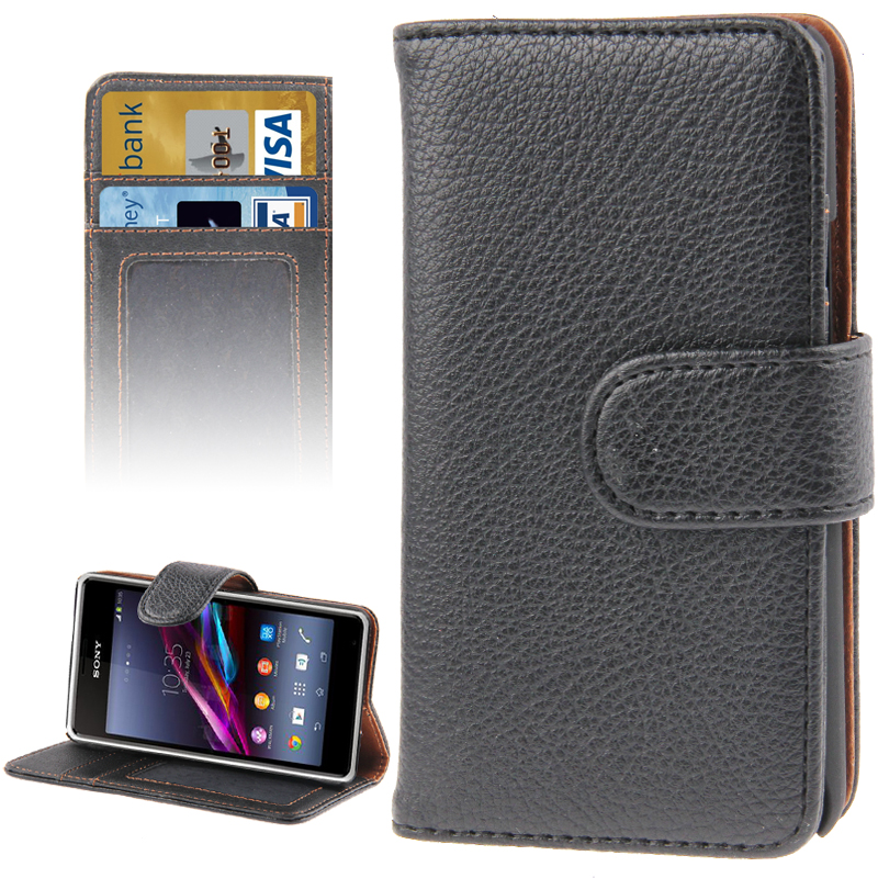 Pouzdro se stojánkem pro Sony Xperia E1 Barva: Černá