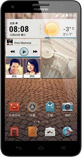 Čirá ochranná fólie pro Huawei Ascend G750/Honor 3X