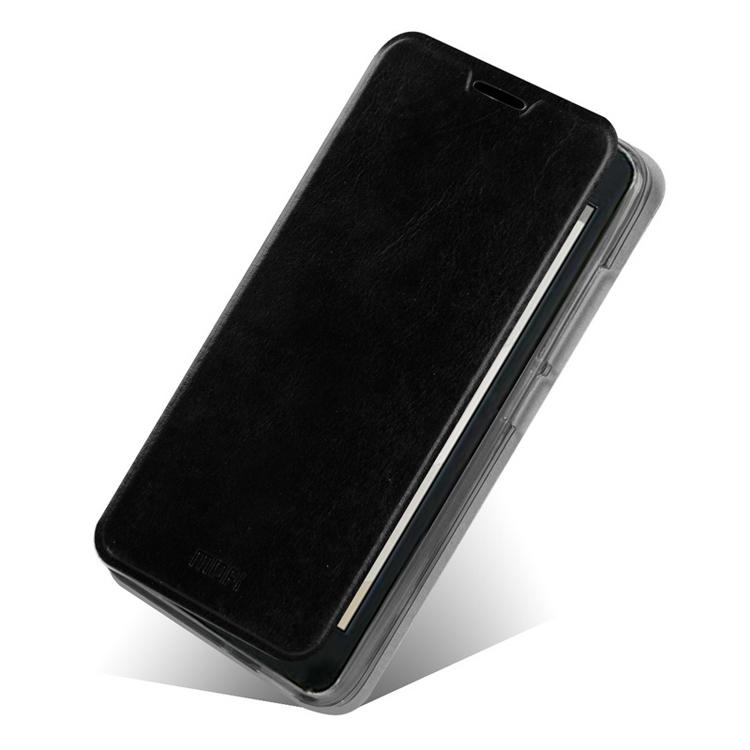 Koženkové pouzdro Mofi pro Huawei Ascend G630 Barva: Černá