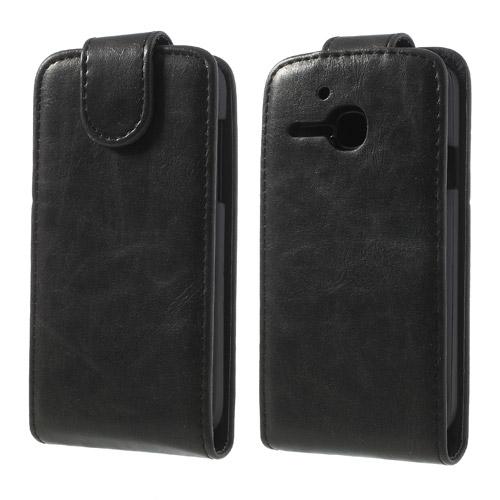Koženkové pouzdro pro Alcatel OT-5020D M´POP Barva: Černá