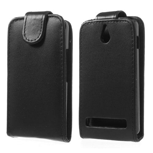 Koženkové pouzdro pro Sony Xperia E1 Barva: Černá