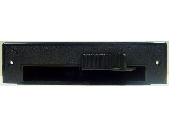 Podlahová štěrbina VacPan černá