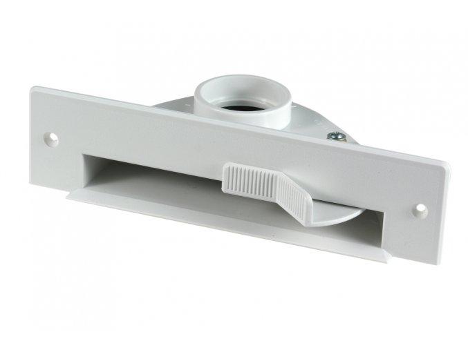 Podlahová štěrbina VacPan Plastiflex bílá