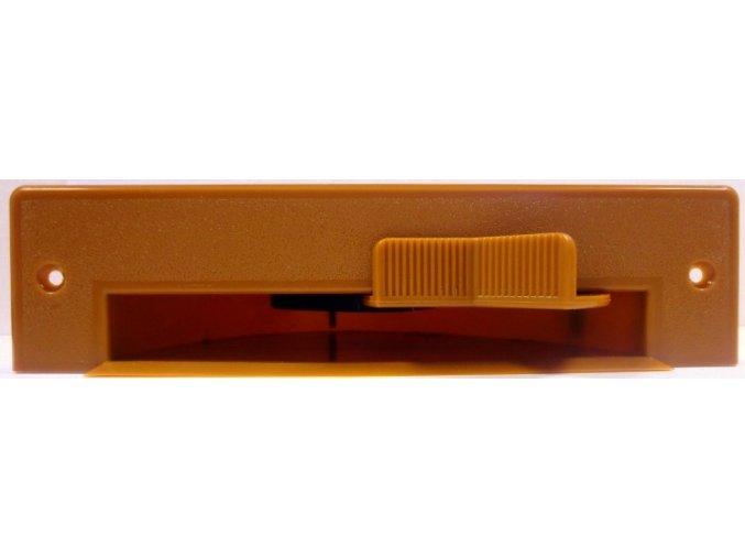 Podlahová štěrbina VacPan světle hnědá 1