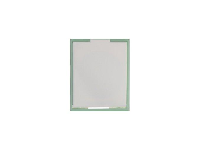 Zásuvka Compact Bílá ledová zelená