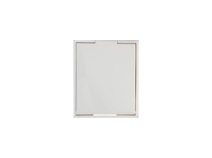 Zásuvka Compact Bílá