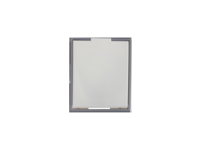 Zásuvka Compact Bílá ledová šedá
